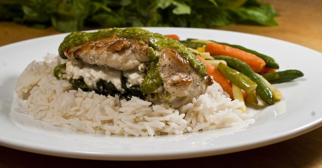 Stuffed Chicken Pesto