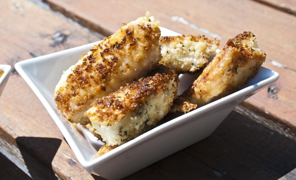 Tilapia Fish Sticks with Herbes De Provence Seasoned Breading