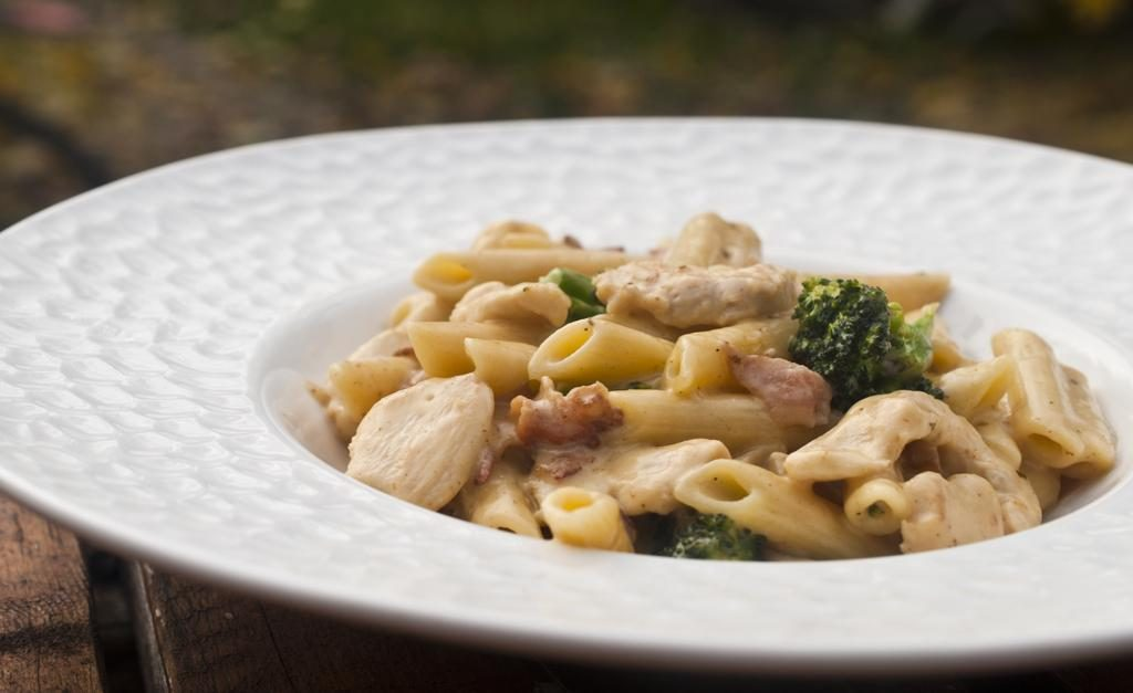 Chicken Bacon Ranch Penne… and Broccoli