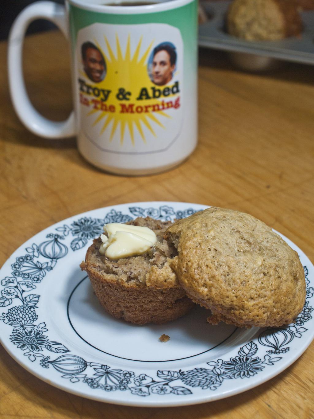 Quick Banana Muffins