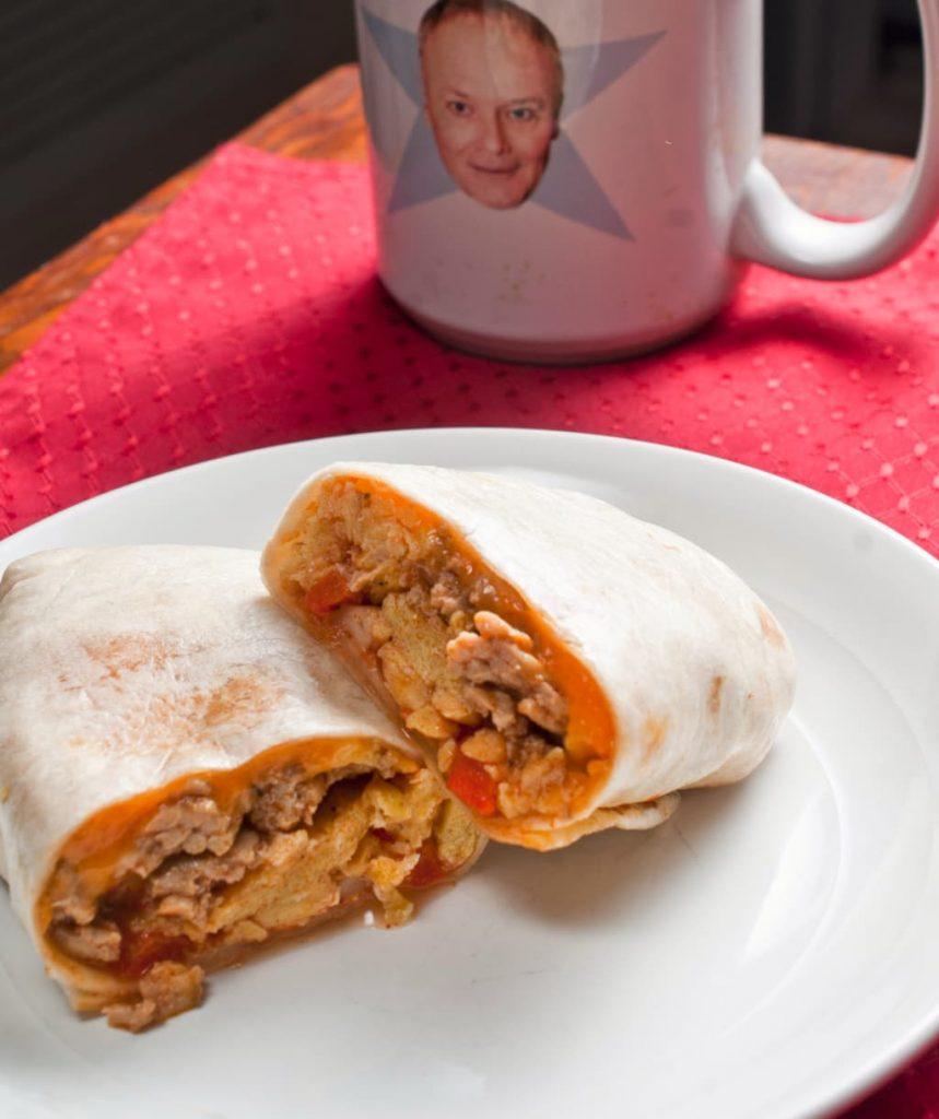 Bulk Breakfast Burritos