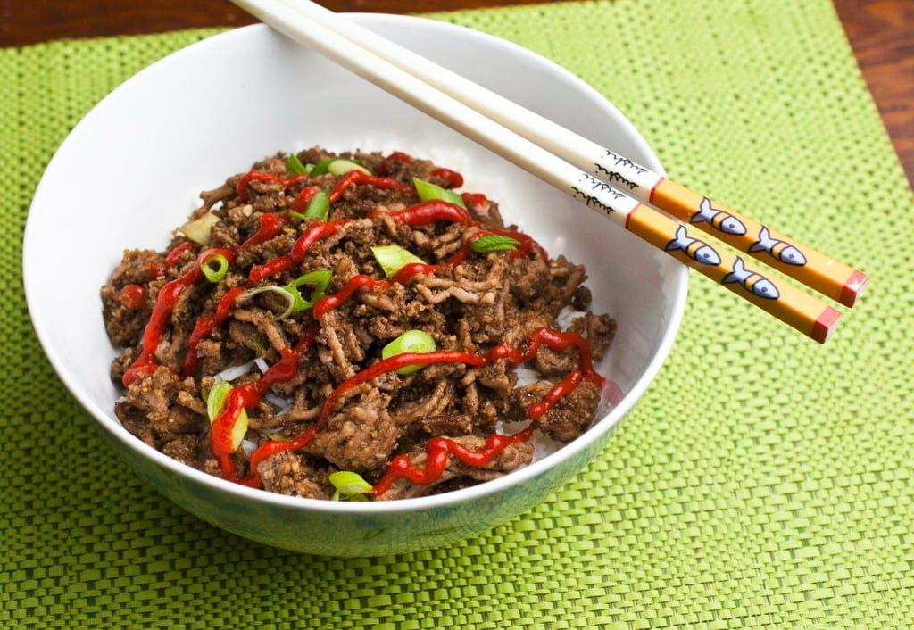 Quick Korean Beef Bowl