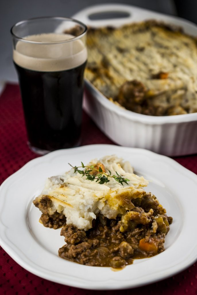 Cottage Pie with Guinness Gravy