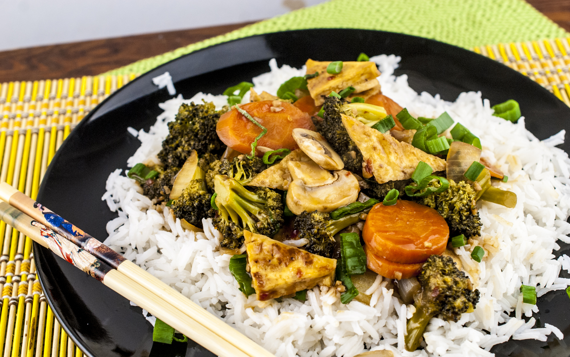 Tofu Broccoli Stir Fry