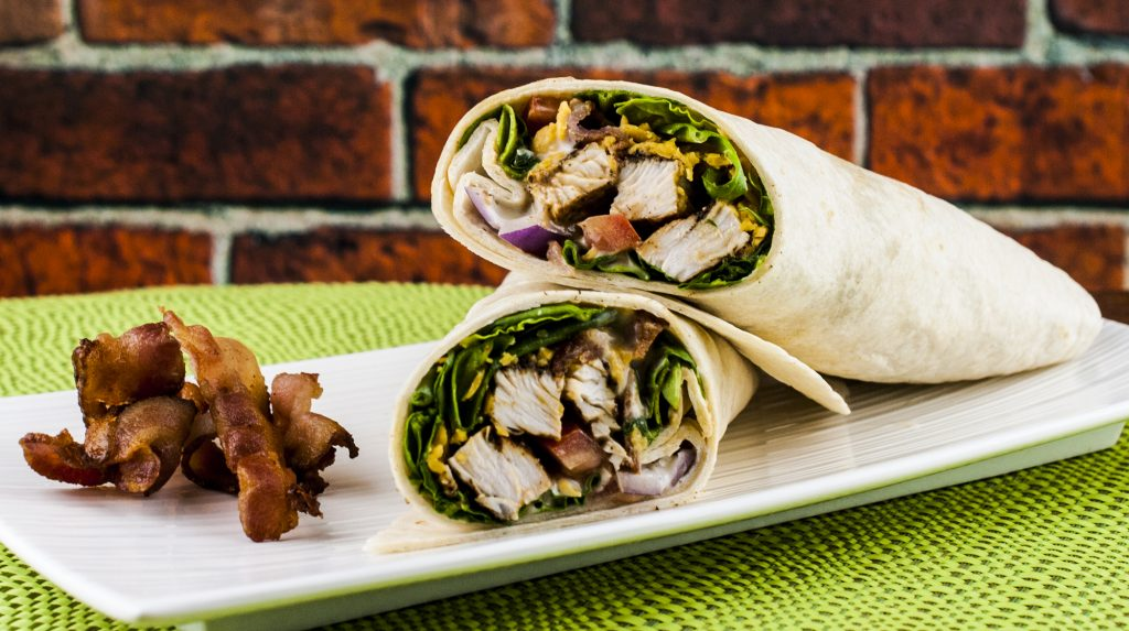 Spicy Turkey Bacon Ranch Wrap