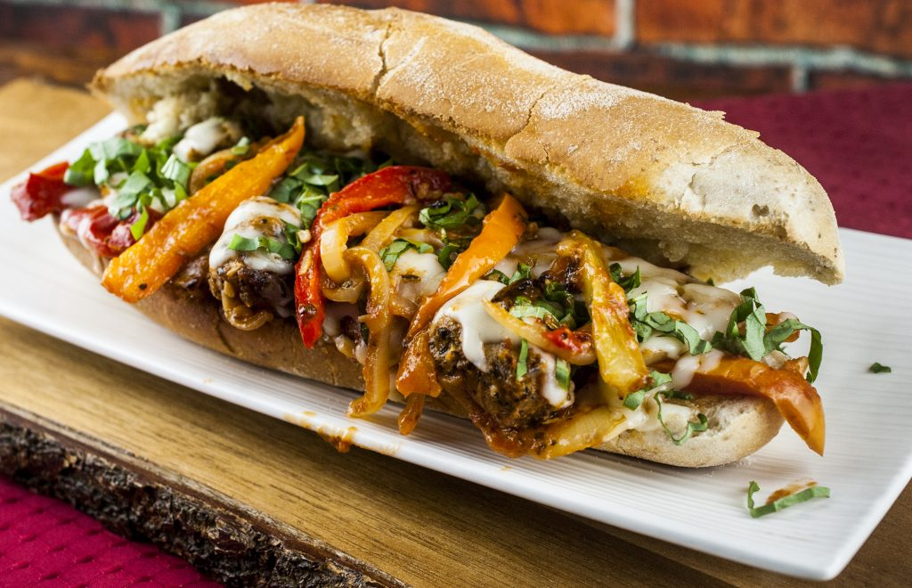Italian Roasted Sausage and Pepper Sandwich