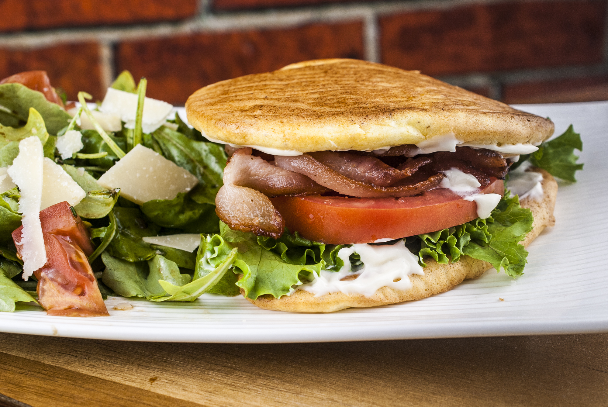 Cloud Bread BLT