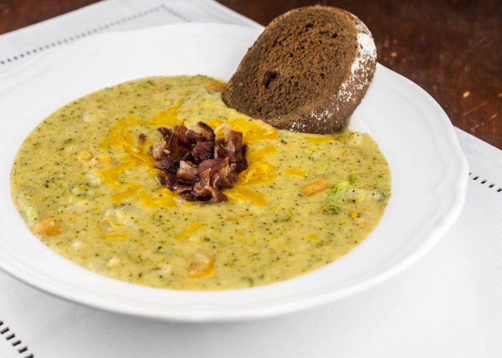 Potato, Broccoli and Cheddar Soup