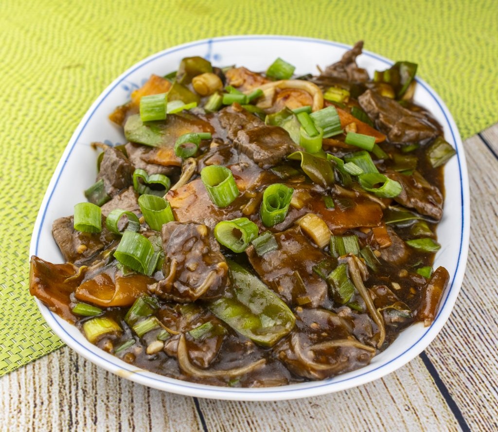 Beef and Snow Pea Stir Fry