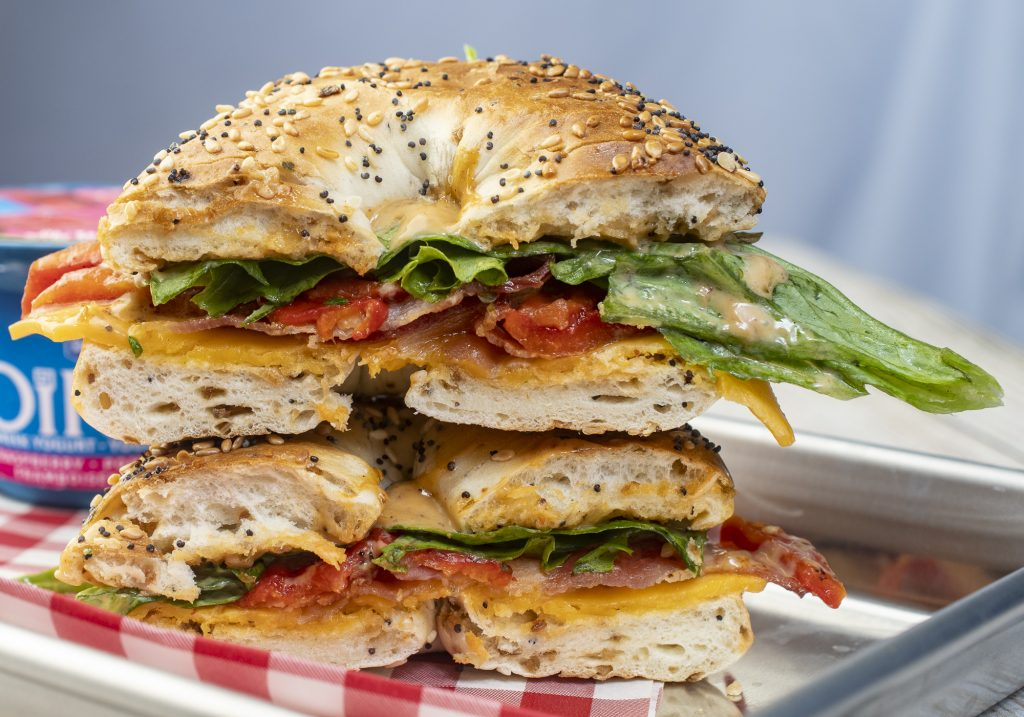 Easy Weekday Breakfast Bagel