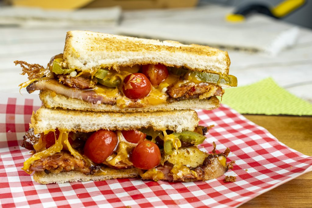 CBC: Chorizo Bacon Cheddar