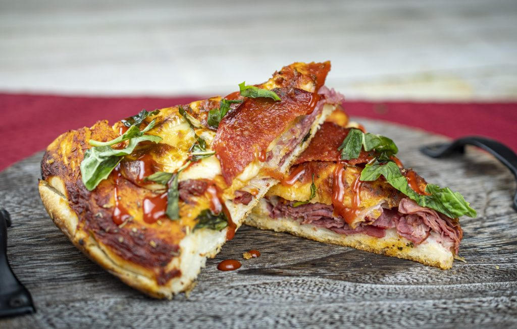 Reuben. Pizza.